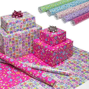 wrapping paper - rolls